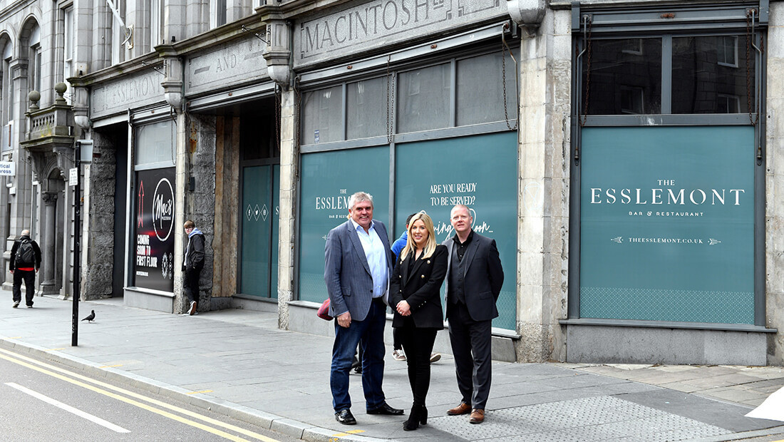 Iconic re-style of historic Union Street department store underway