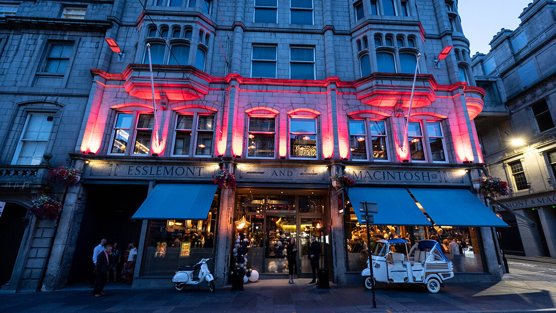 Iconic building back to life with the opening of two new restaurants on Union Street